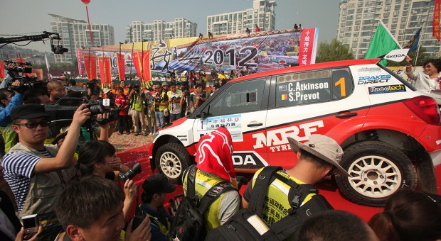 ŠKODA teams in the big APRC final in China
