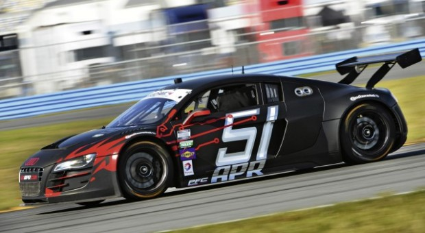 First pole position for Audi at Daytona