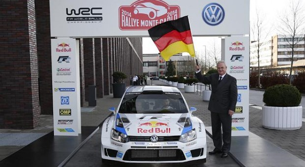 Volkswagen WRC Team ready for start