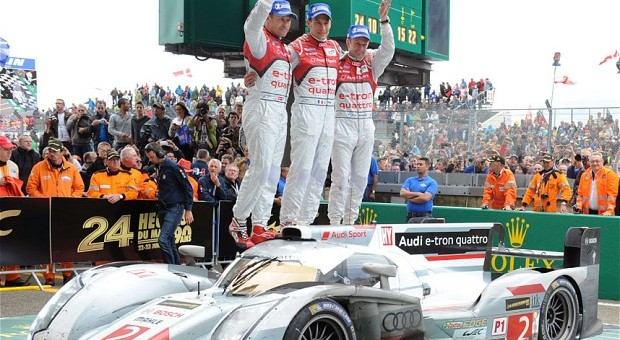 Lucky Number 13 for Audi: Brand Celebrates 13th Win at Le Mans
