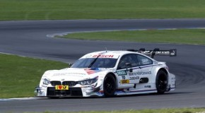 Productive test at the Lausitzring: Heikki Kovalainen in action for BMW (DTM)