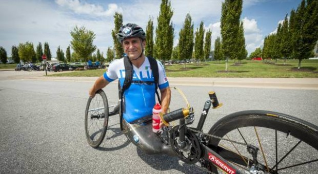 Ambassador Alessandro Zanardi celebrates successful Para-Cycling World Championships