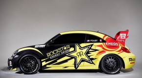 Volkswagen Andretti Rallycross Team presents the GRC Beetle with 560 PS and all-wheel drive at Travemünde