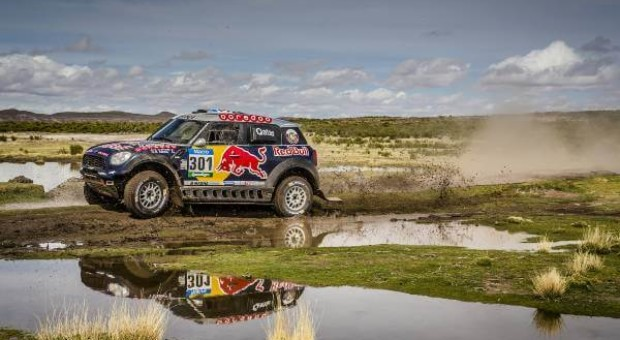 "Joan ""Nani"" Roma claims his first stage win at the 2015 Dakar Rally"