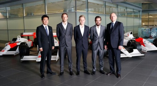 McLaren-Honda 2015 Formula One Driver Announcement