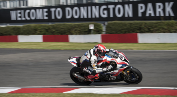 Strong performance by BMW Team goes unrewarded on Sunday at Donington Park