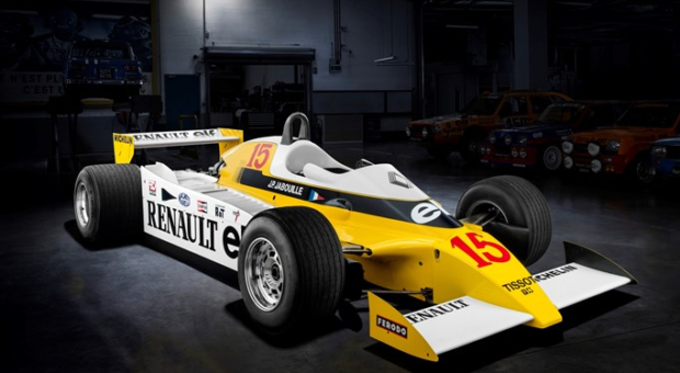 "Renault: ""40th anniversary of the Formula 1 victory of the first turbo engine!"""
