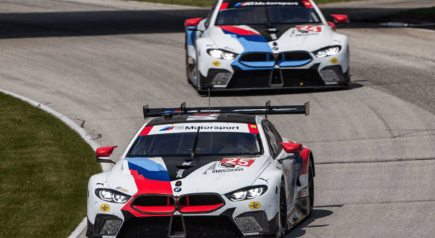 BMW Team RLL finished fifth in the IMSA WeatherTech SportsCar Championship race at Road America