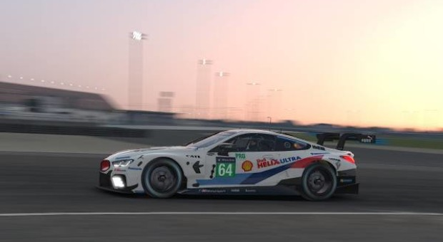 Top-three shut-out for the BMW M8 GTE in the second IMSA iRacing Pro Series race on the Laguna Seca virtual circuit