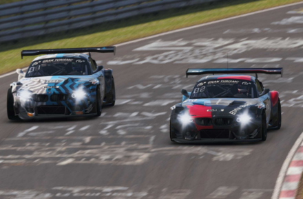 One-two result for the BMW Z4 GT3 on the virtual Nordschleife – Bruno Spengler and Philipp Eng with a long Saturday of sim racing.