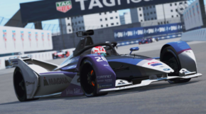 Maximilian Günther remains undefeated in the 'ABB Formula E Race at Home Challenge' after victory in race two.