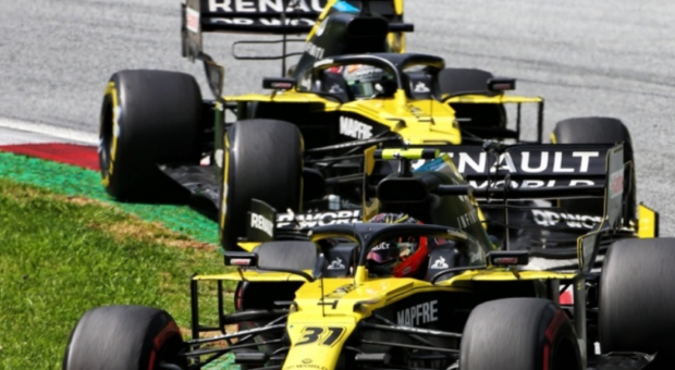 Renault DP World F1 Team scored 16 points from the VTB Russian Grand Prix