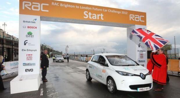 Victory for Renault ZOE on the 2014 'Rallye Monte-Carlo ZENN'